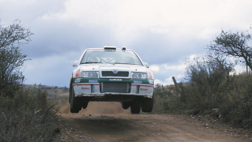 Kenneth Eriksson / Christina Thörner, ŠKODA OCTAVIA WRC, ŠKODA Motorsport. Rally Argentina 2002