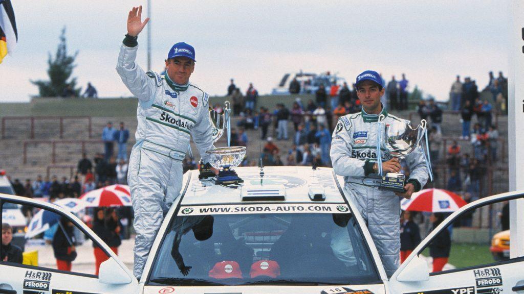 Gabriel Pozzo / Daniel Stillo, ŠKODA OCTAVIA WRC, ŠKODA Motorsport. Rally Argentina 2002