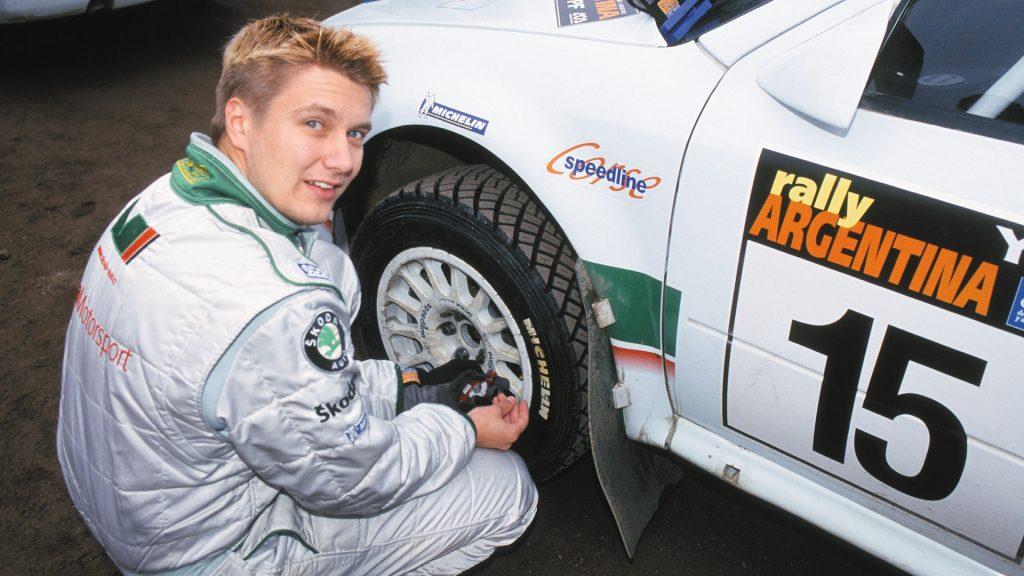 Toni Gardemeister, ŠKODA OCTAVIA WRC, ŠKODA Motorsport. Rally Argentina 2002