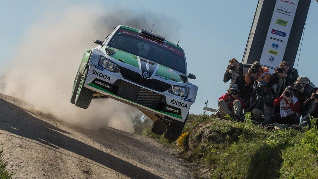 Esapekka Lappi / Janne Ferm, ŠKODA FABIA R5, ŠKODA Motorsport. Rally de Portugal 2015