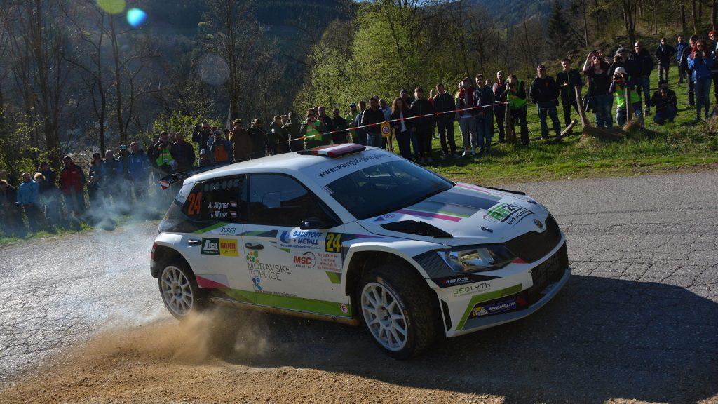 Andreas Aigner / Ilka Minor-Petrasko, ŠKODA FABIA R5, Andreas Aigner. Lavanttal Rallye 2017