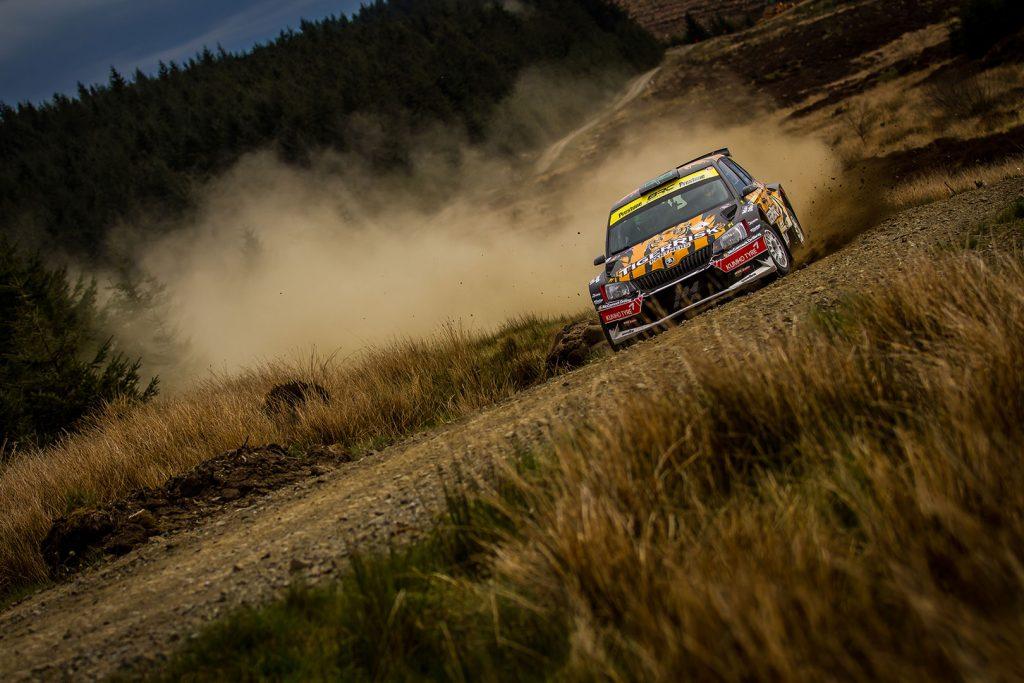 Martin McCormack / David Moynihan, ŠKODA FABIA R5, Tiger Risk Rally Team. Pirelli Rally 2017