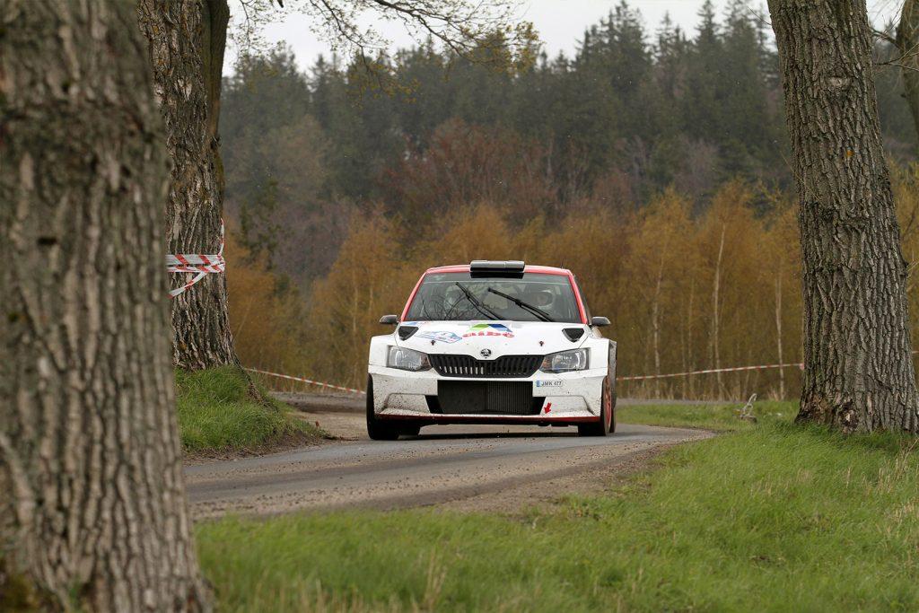 Dominykas Butvilas / Renatas Vaitkevičius, ŠKODA FABIA R5, Auto Partner Rally Team. Rajd Świdnicki 2017