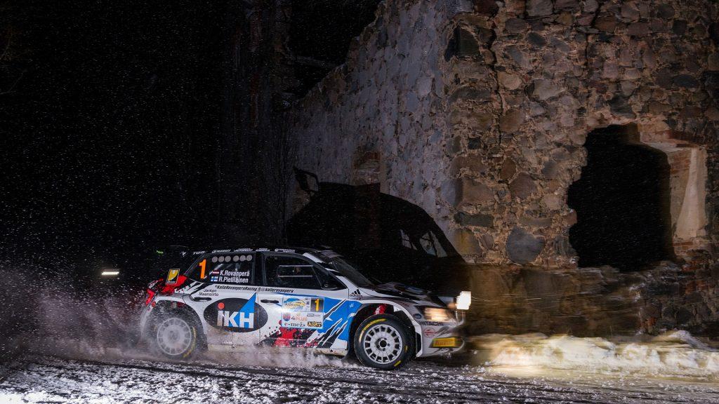 Kalle Rovanperä / Risto Pietiläinen, ŠKODA FABIA R5, TGS Worldwide OU. Rally Alūksne 2017