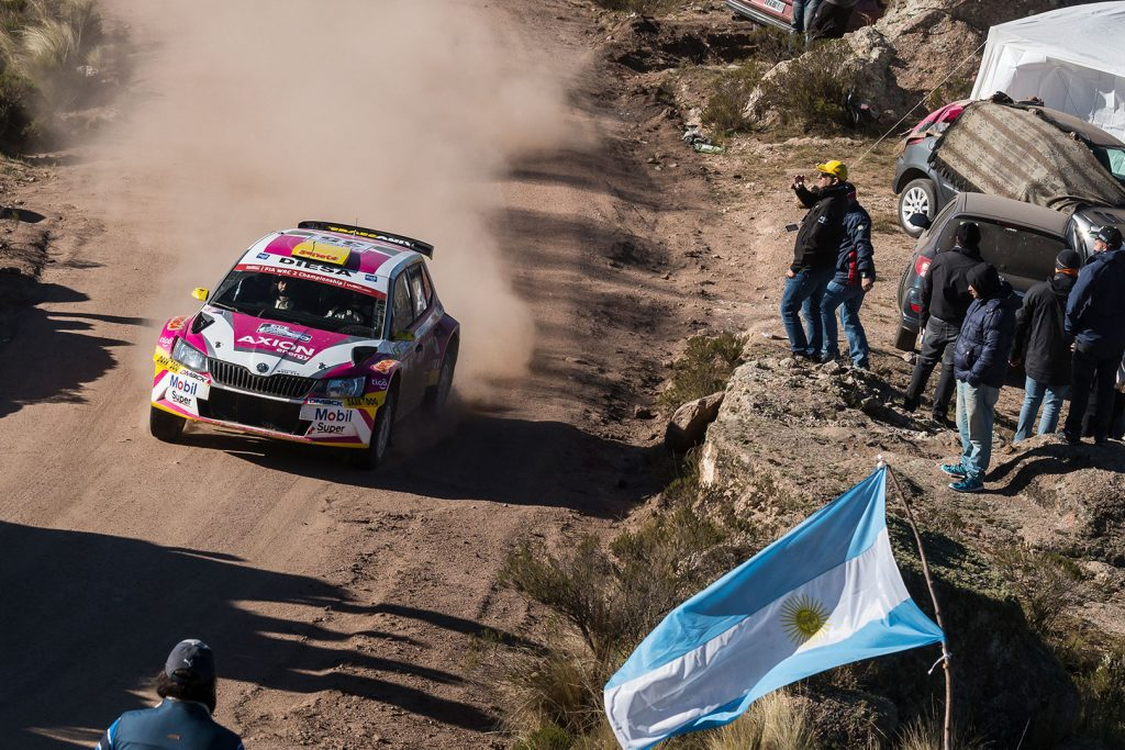 Gustavo Saba / Fernando Mussano, ŠKODA FABIA R5, SABA Competition. Rally Argentina 2017