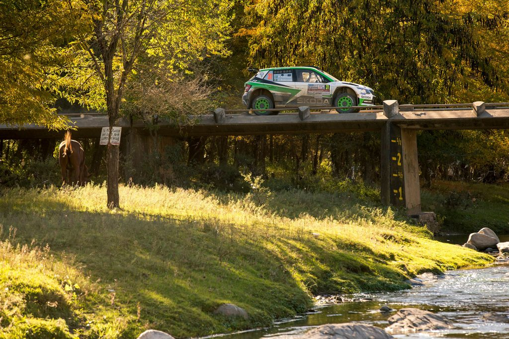 Pontus Tidemand / Jonas Andersson, ŠKODA FABIA R5, ŠKODA Motorsport. Rally Argentina 2017