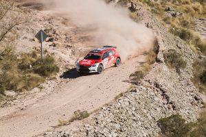 Hubert Ptaszek / Maciej Szczepaniak, ŠKODA FABIA R5, Orlen Team. Rally Argentina 2017
