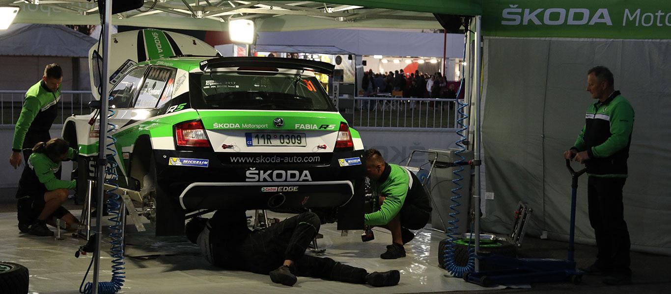 WRC Argentina: ŠKODA chce posílit své vedení