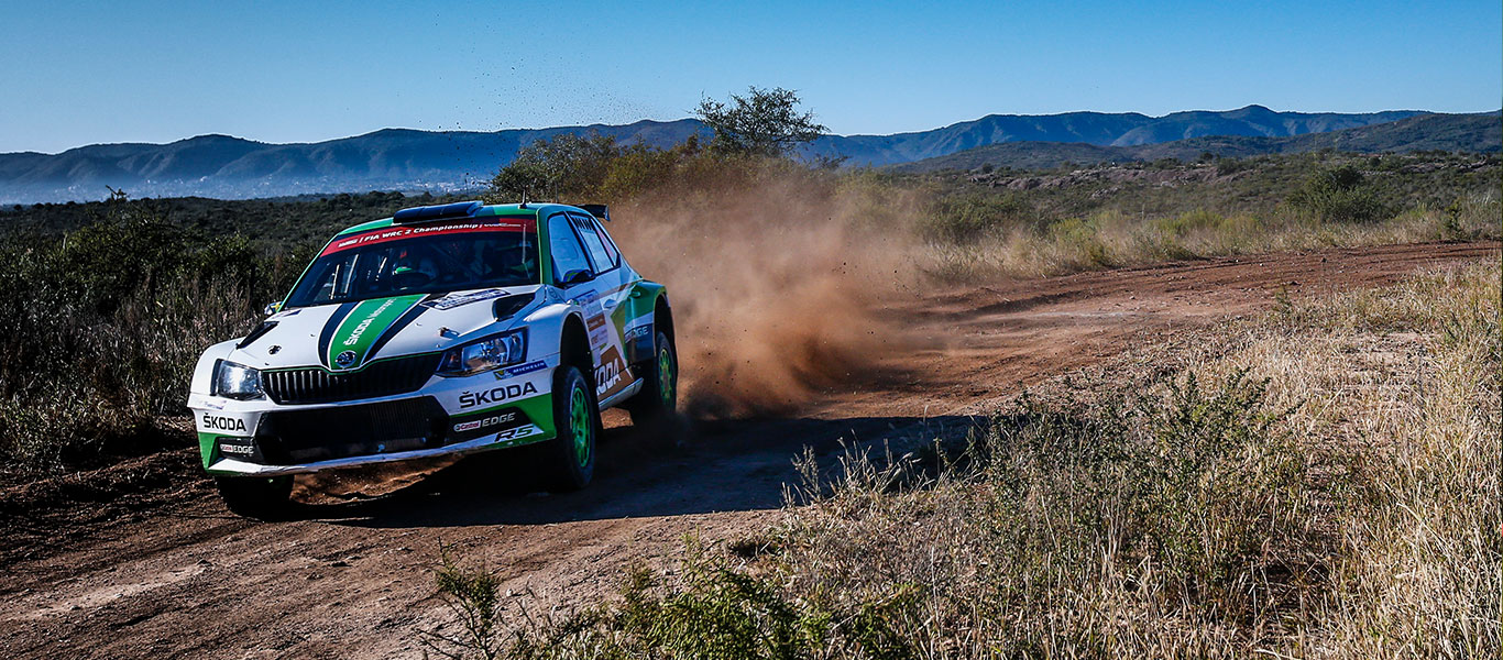 WRC Argentina: Tidemand takes the lead on day one