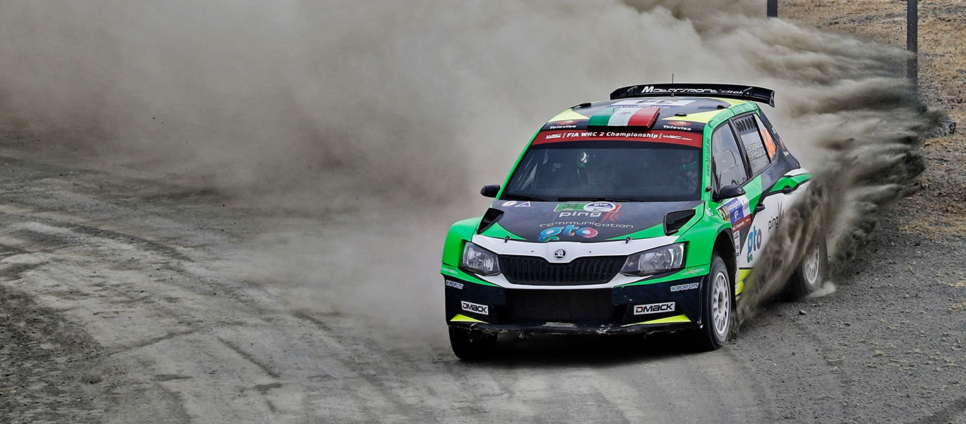 WRC Argentina: Vozy ŠKODA FABIA R5 dominují startovní listině kategorie WRC2