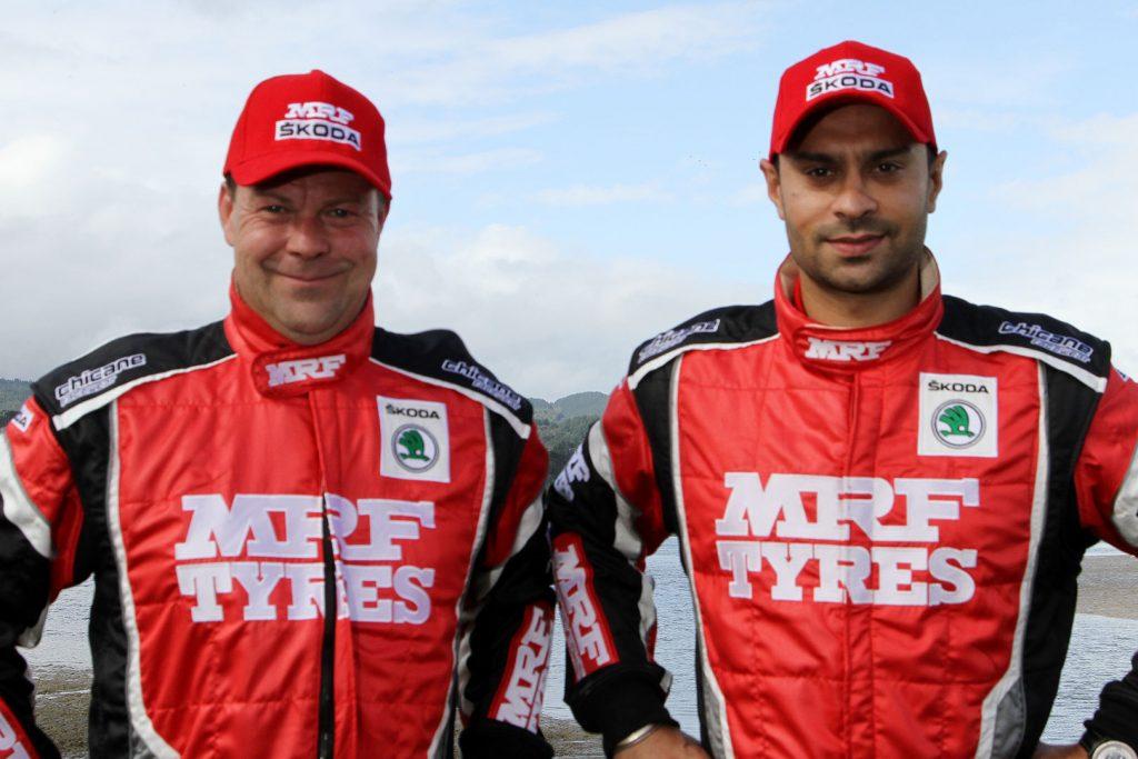 Gaurav Gill / Stephane Prevot, ŠKODA FABIA R5, ŠKODA Team MRF. Rally of Whangarei 2017
