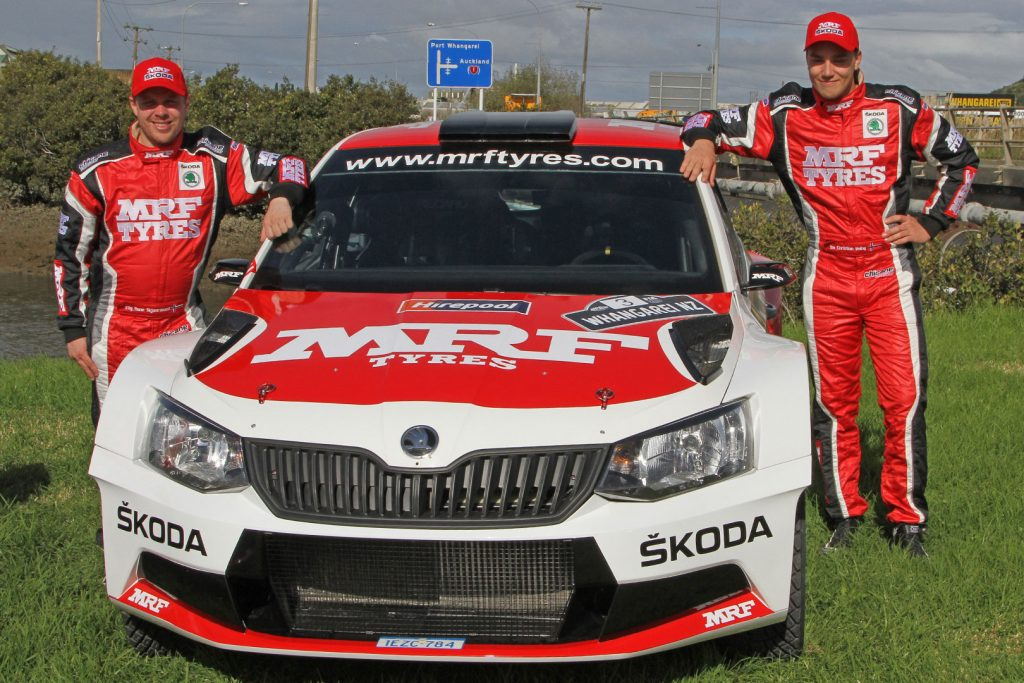 Ole Christian Veiby / Stig Skjarmoen, ŠKODA FABIA R5, ŠKODA Team MRF. Rally of Whangarei 2017