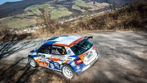 Martin Koči / Lukáš Kostka, ŠKODA FABIA R5, Styllex - Lracing. Rally Rožňava 2017