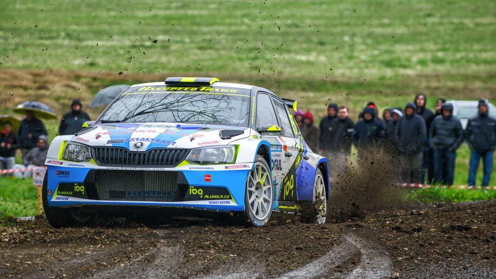 Karel Trojan jun. / Petr Chlup, ŠKODA FABIA R5, Korno Motorsport. Rallye Šumava Klatovy 2017