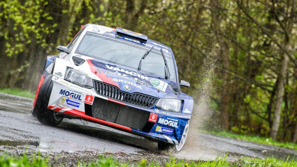 Jan Černý / Petr Černohorský jun., ŠKODA FABIA R5, Mogul ŠKODA ACA Racing. Rallye Šumava Klatovy 2017