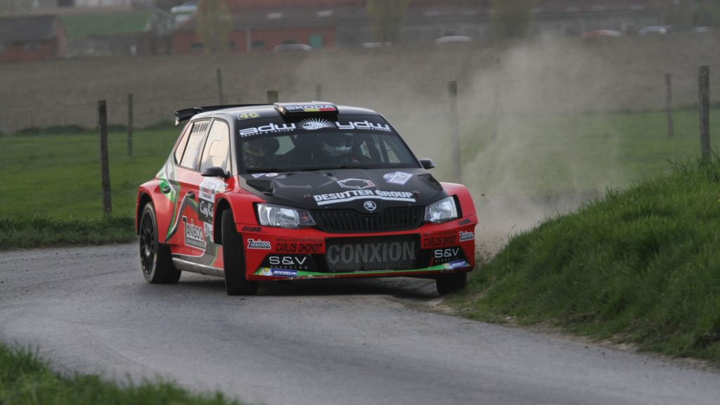 Vincent Verschueren / Veronique Hostens, ŠKODA FABIA R5, Vincent Verschueren. TAC Rally 2017 (Photo: BRC Media)