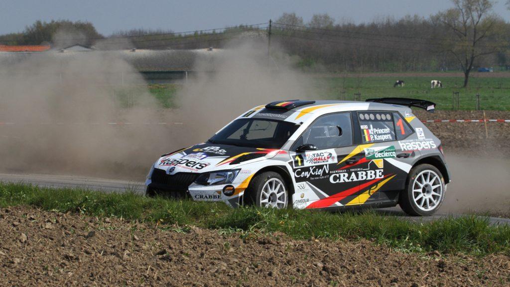 Kris Princen / Peter Kaspers, ŠKODA FABIA R5, Kris Princen. TAC Rally 2017 (Photo: BRC Media)