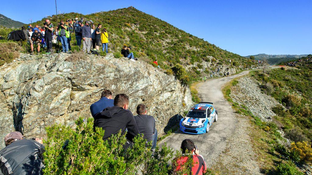 Stéphane Sarrazin / Jacques-Julien Renucci, ŠKODA FABIA R5, Stéphane Sarrazin. Tour de Corse 2017