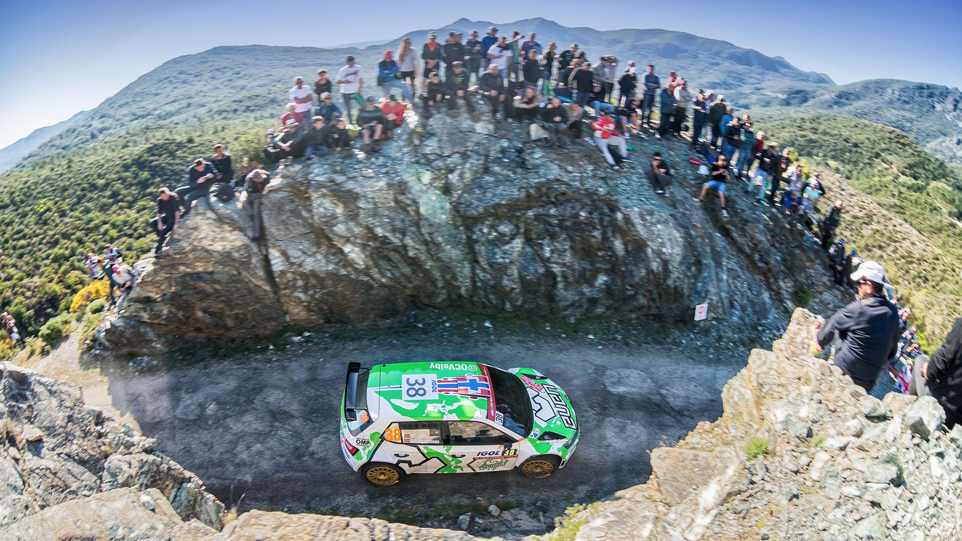 Ole Christian Veiby / Stig Rune Skjærmoen, ŠKODA FABIA R5, Printsport Oy. Tour de Corse 2017