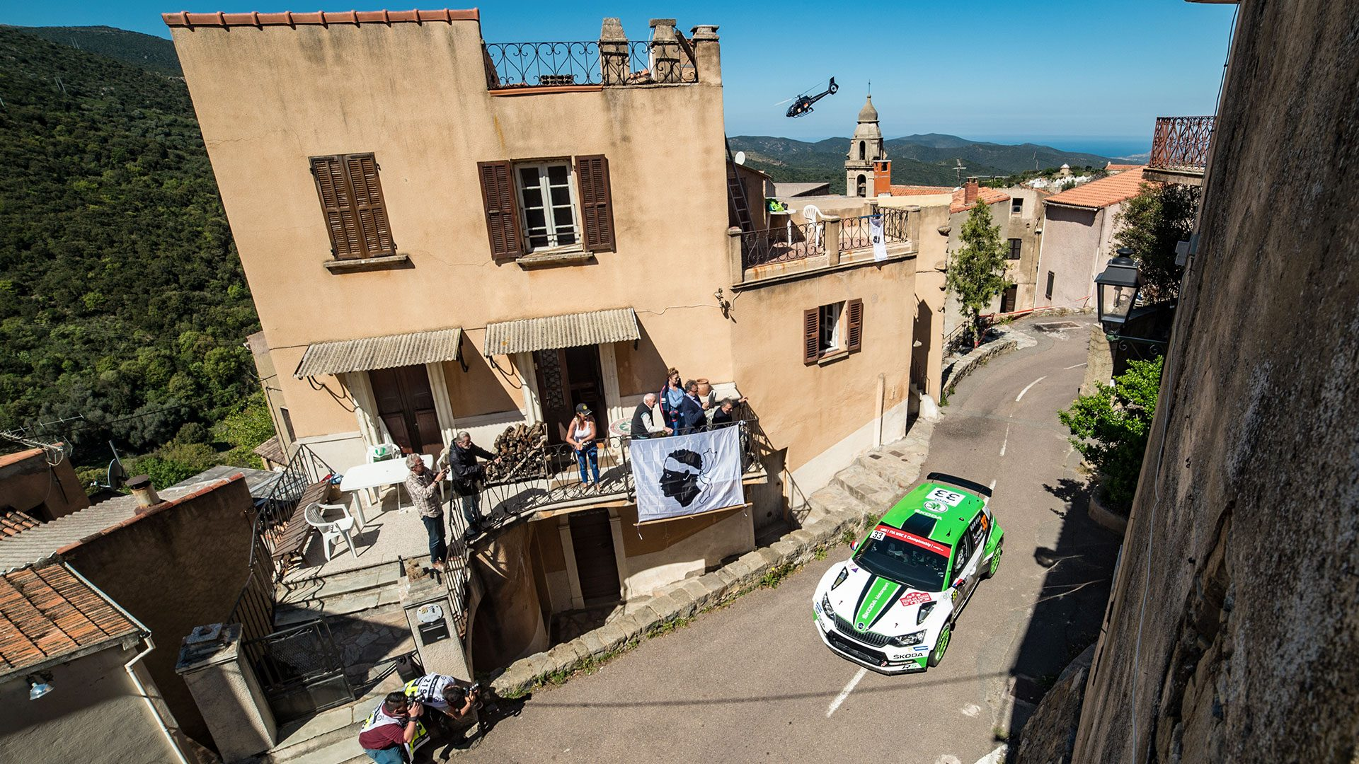 Jan Kopecký / Pavel Dresler, ŠKODA FABIA R5, ŠKODA Motorsport. Tour de Corse 2017