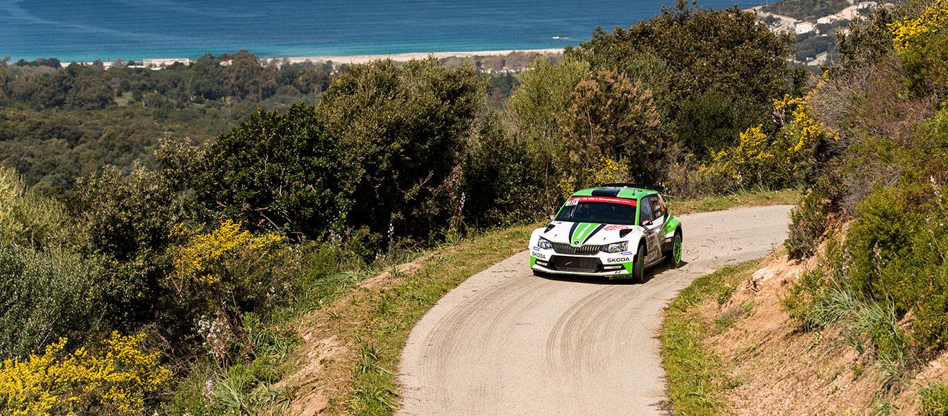 WRC Korsika: Andreas Mikkelsen suverénně ve vedení
