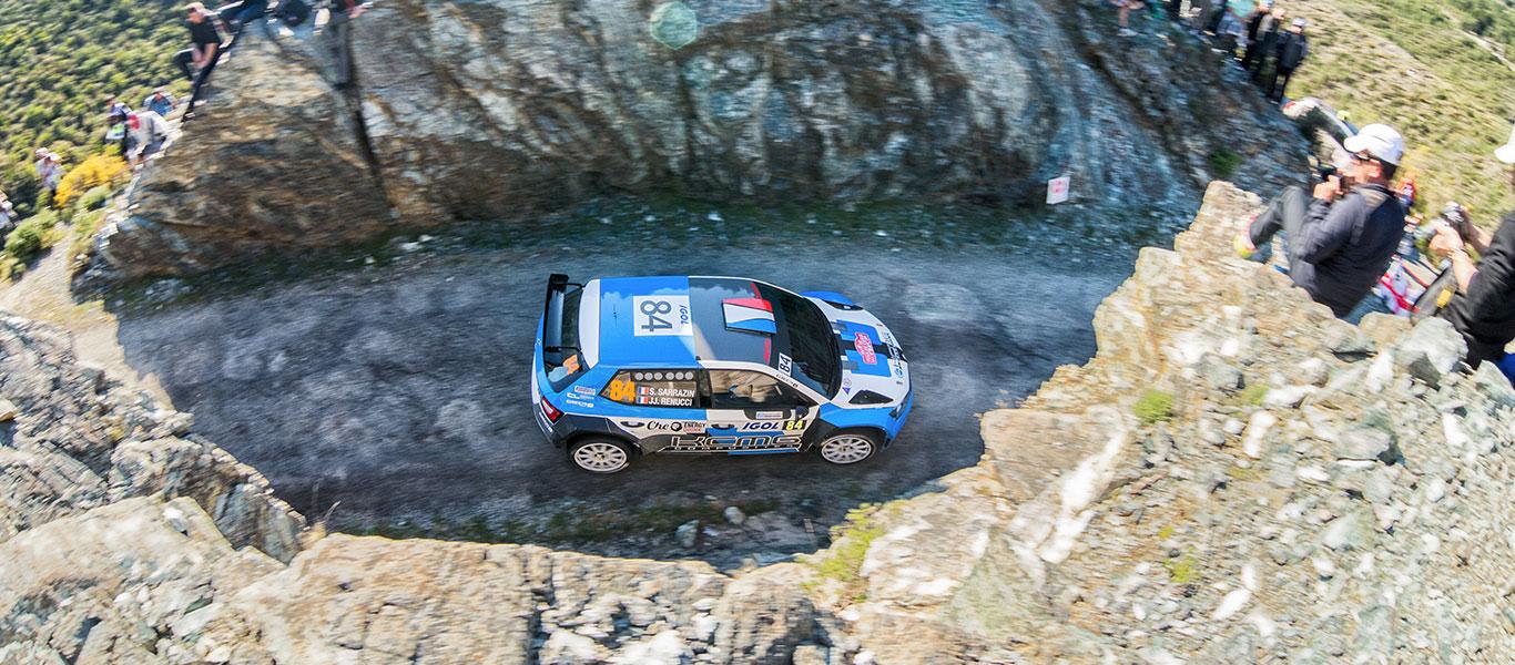 WRC France: ŠKODA Customer Teams finish strongly in Corsica