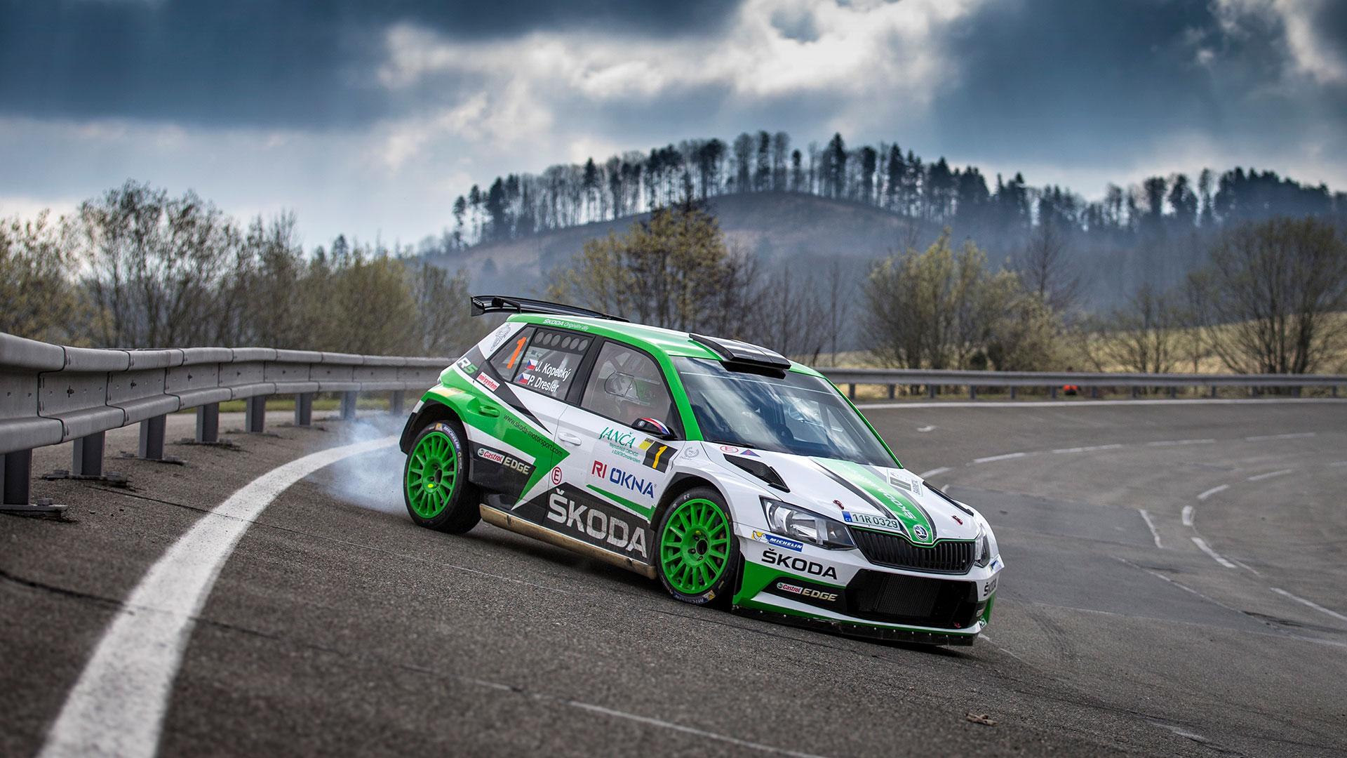 Valašská Rally - ŠKODA Motorsport