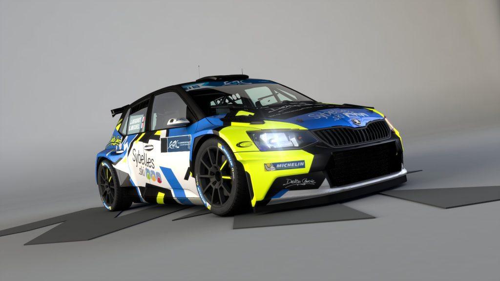 Sylvain Michel to participate in the FIA ERC Junior U28 championship