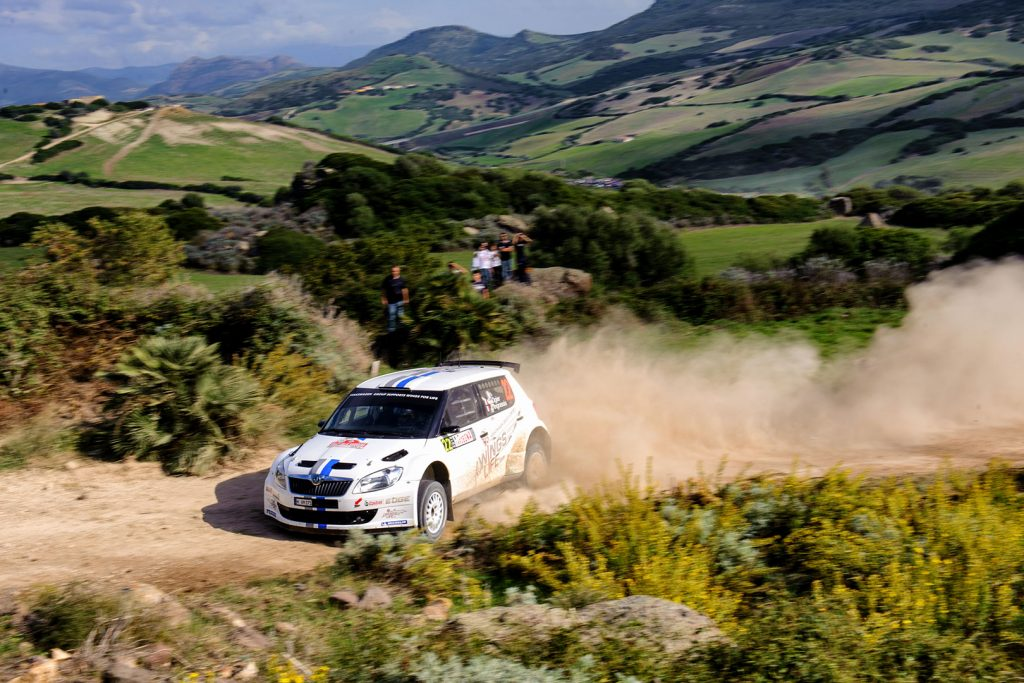 Sébastien Ogier / Julien Ingrassia, ŠKODA FABIA S2000, Volkswagen Motorsport. Rally Italia Sardegna 2012