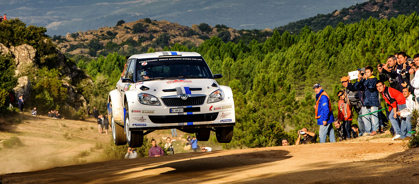 From the Archives: ŠKODA FABIA S2000 wrote the history at the 2012 Rally Italia Sardegna
