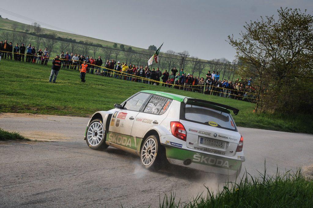 Esapekka Lappi / Janne Ferm, ŠKODA FABIA S2000, ŠKODA Motorsport. Rally Český Krumlov 2015