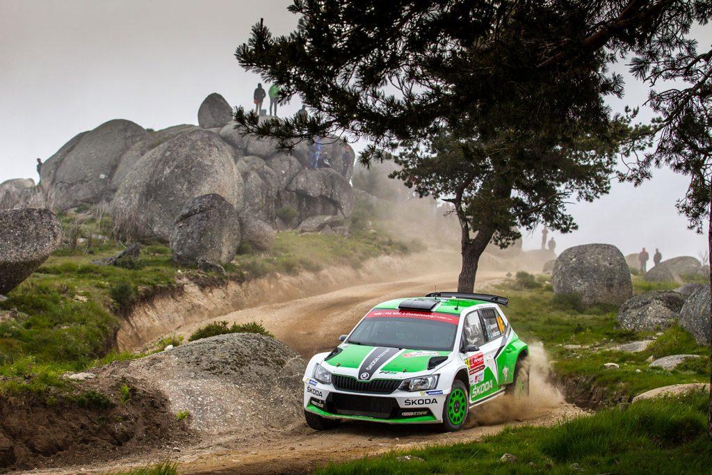 Pontus Tidemand / Jonas Andersson, ŠKODA FABIA R5, ŠKODA Motorsport. Rally de Portugal 2016