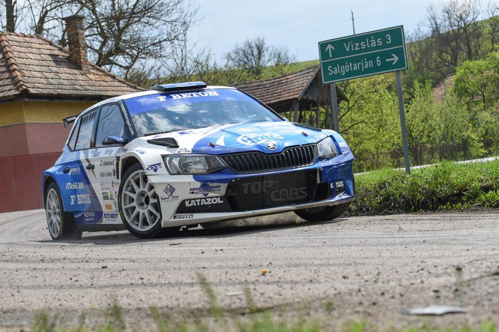 Péter Ranga / Tamás Szöke, ŠKODA FABIA R5, Ranga Rally Team. Ózd Rallye 2017