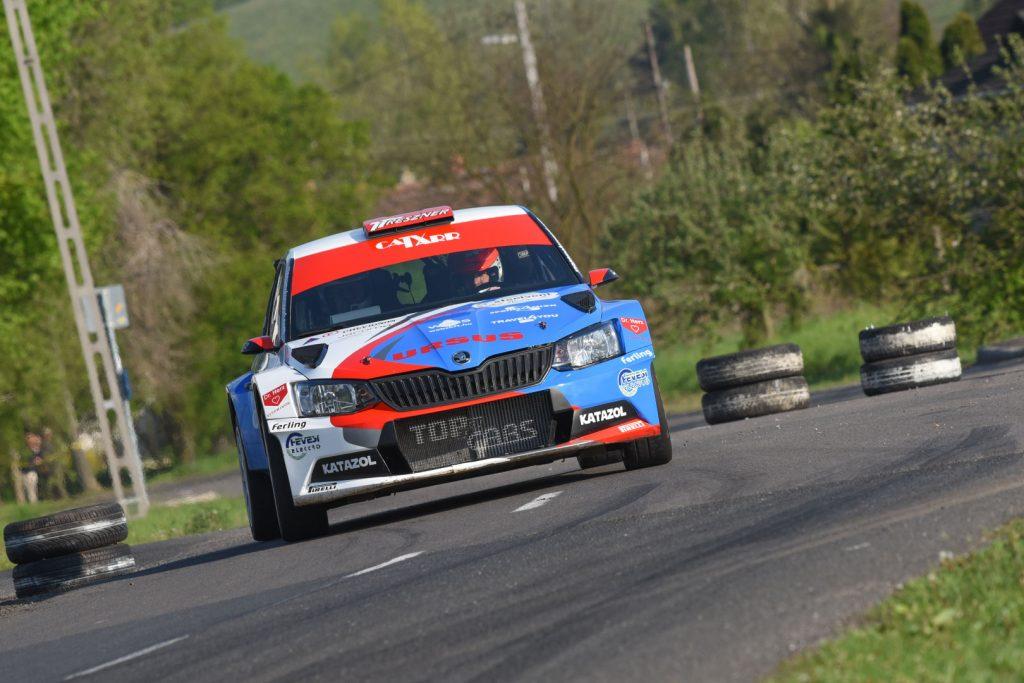 László Ranga jun. / Imre Tóth, ŠKODA FABIA R5, Ranga Rally Team. Ózd Rallye 2017