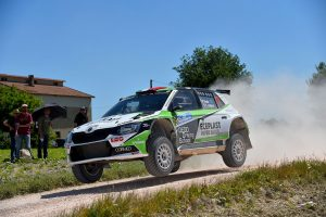 """Dedo"" / Emanuele Inglesi, ŠKODA FABIA R5, Motorsport Italia. Rally Adriatico 2017"