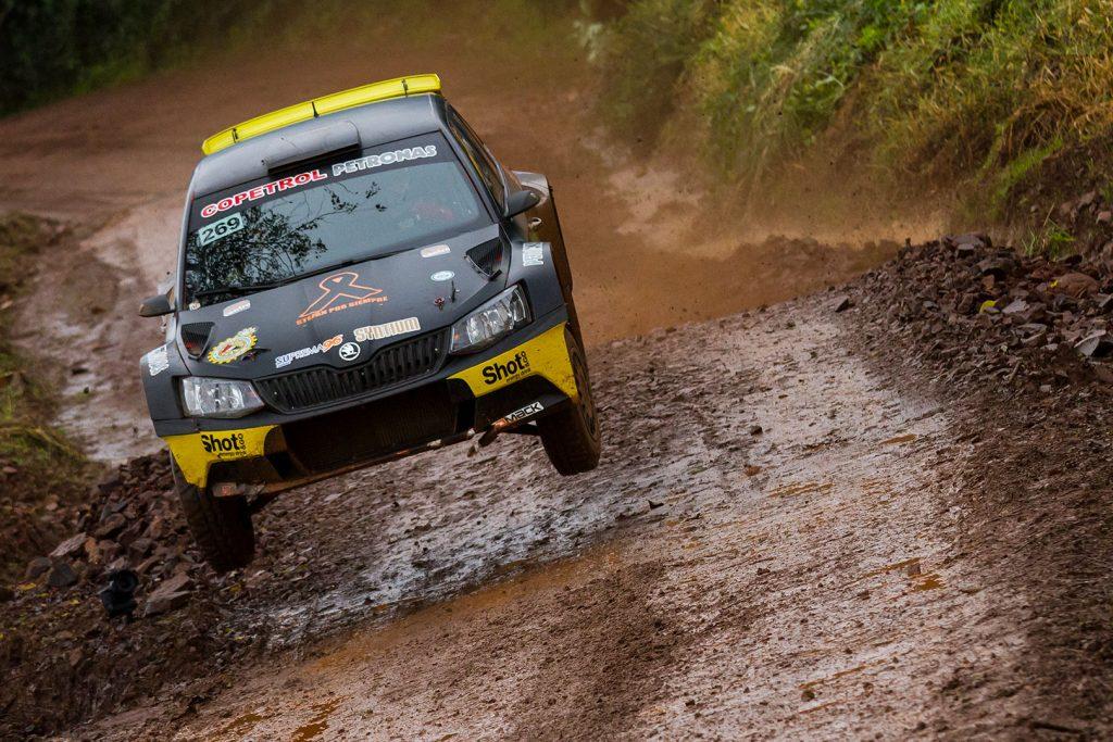 Blas Zapag / Enrique Fratta, ŠKODA FABIA R5, Copetrol Rally Team. Rally de Erechim 2017