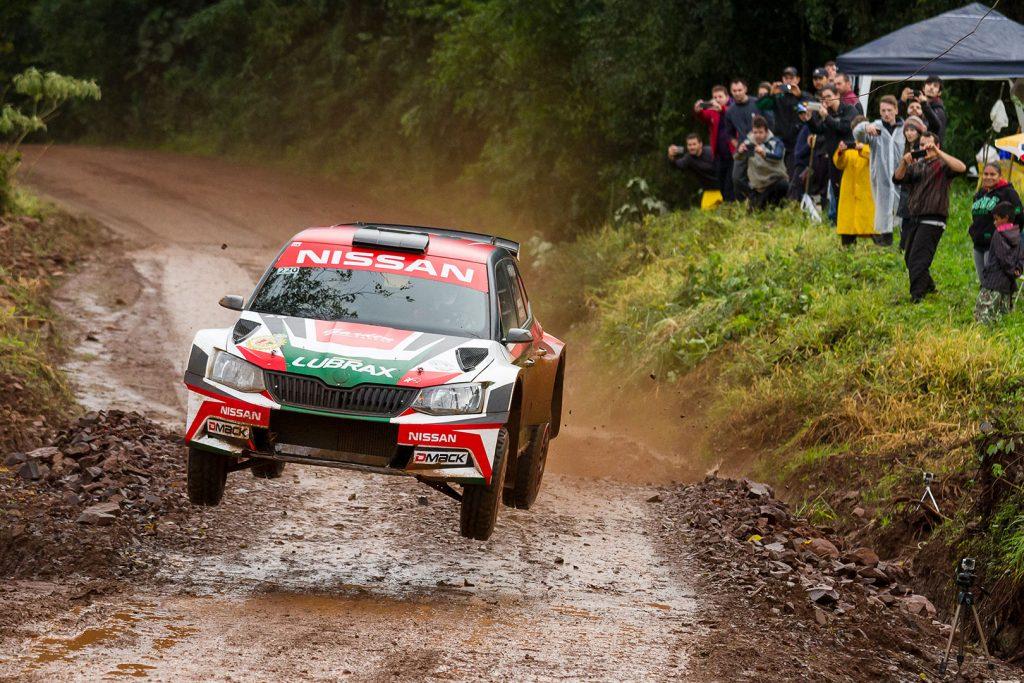 Didier Arias / Hector Nunes, ŠKODA FABIA R5, KIA Rally Team. Rally de Erechim 2017