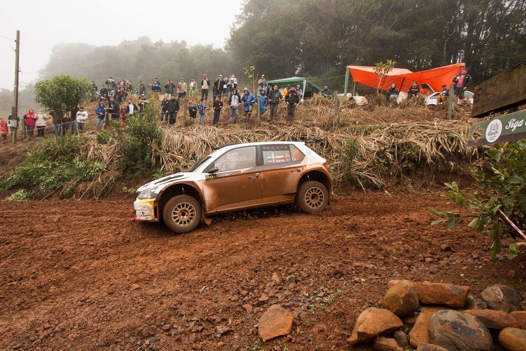 Marcos Ligato / Ruben Garcia, ŠKODA FABIA R5, Saba Competicion. Rally de Erechim 2017