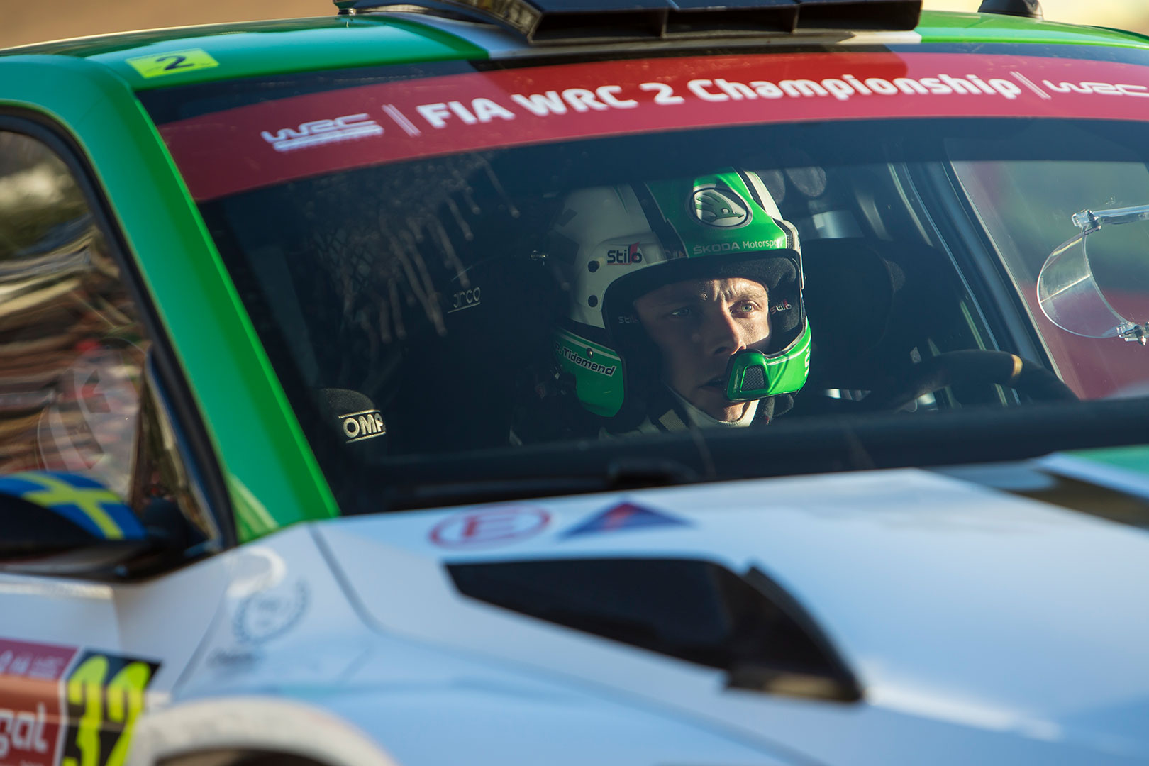 Pontus Tidemand / Jonas Andersson, ŠKODA FABIA R5, ŠKODA Motorsport. Rally de Portugal 2017