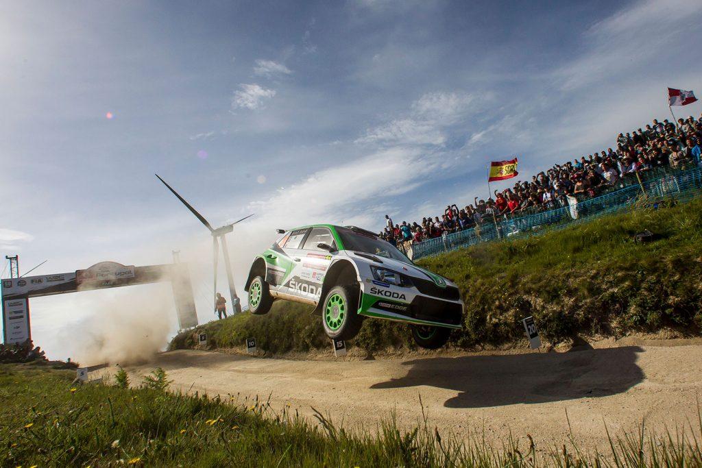 Andreas Mikkelsen / Anders Jæger, ŠKODA FABIA R5, ŠKODA Motorsport. Rally de Portugal 2017