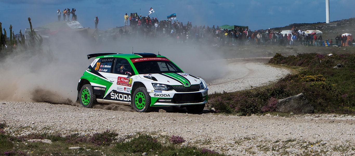 PHOTO: ŠKODA Motorsport at the 2017 Rally de Portugal