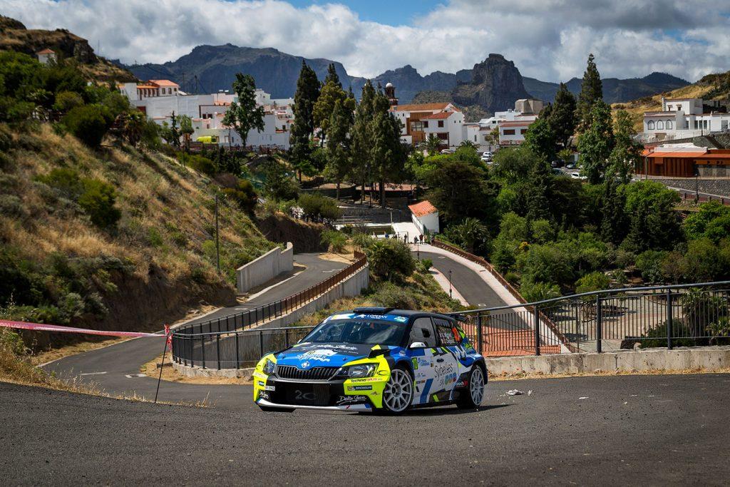 Sylvain Michel / Jérôme Degout, ŠKODA FABIA R5, Sylvain Michel. Rally Islas Canarias 2017