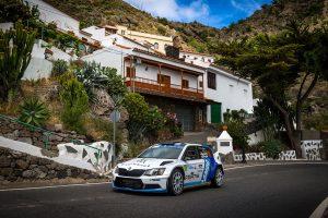 Albert von Thurn und Taxis / Bjorn Degandt, ŠKODA FABIA R5, Albert von Thurn und Taxis. Rally Islas Canarias 2017