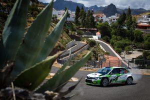 Max Rendina / Emanuele Inglesi, ŠKODA FABIA R5, Max Rendina. Rally Islas Canarias 2017