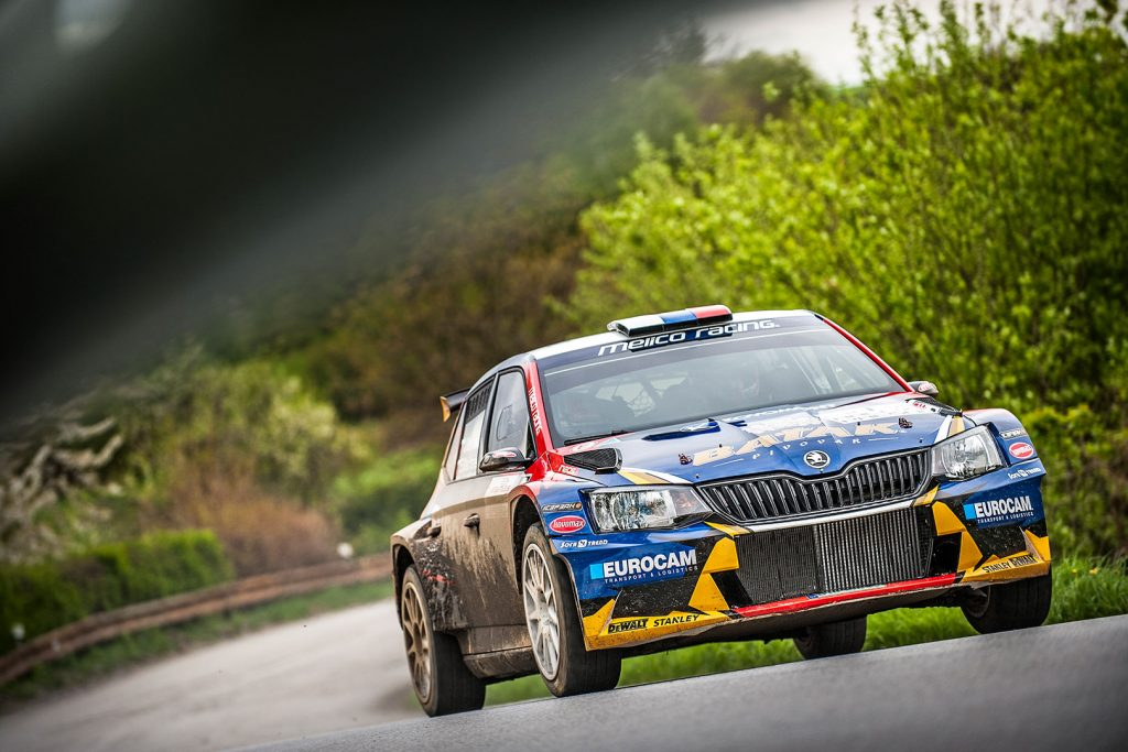 Jaroslav Melichárek / Erik Melichárek, ŠKODA FABIA R5, Melico Racing. Rally Prešov 2017