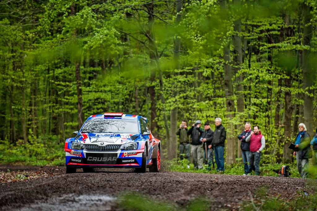 Grzegorz Grzyb / Jakub Wróbel, ŠKODA FABIA R5, Rufa Sport. Rally Prešov 2017