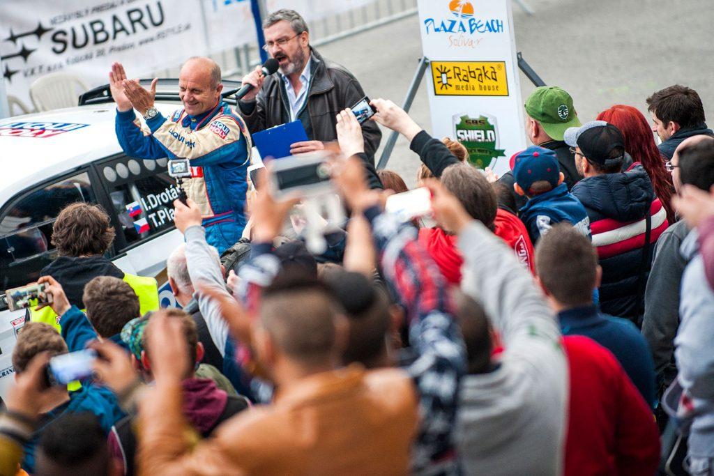 Igor Drotár / Tomáš Plachý, ŠKODA FABIA R5, Drotár Autošport. Rally Prešov 2017