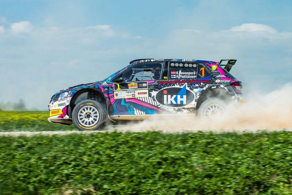 Kalle Rovanperä / Risto Pietiläinen, ŠKODA FABIA R5, TGS Worldwide OU. Rally Talsi - Rally of Champions 2017