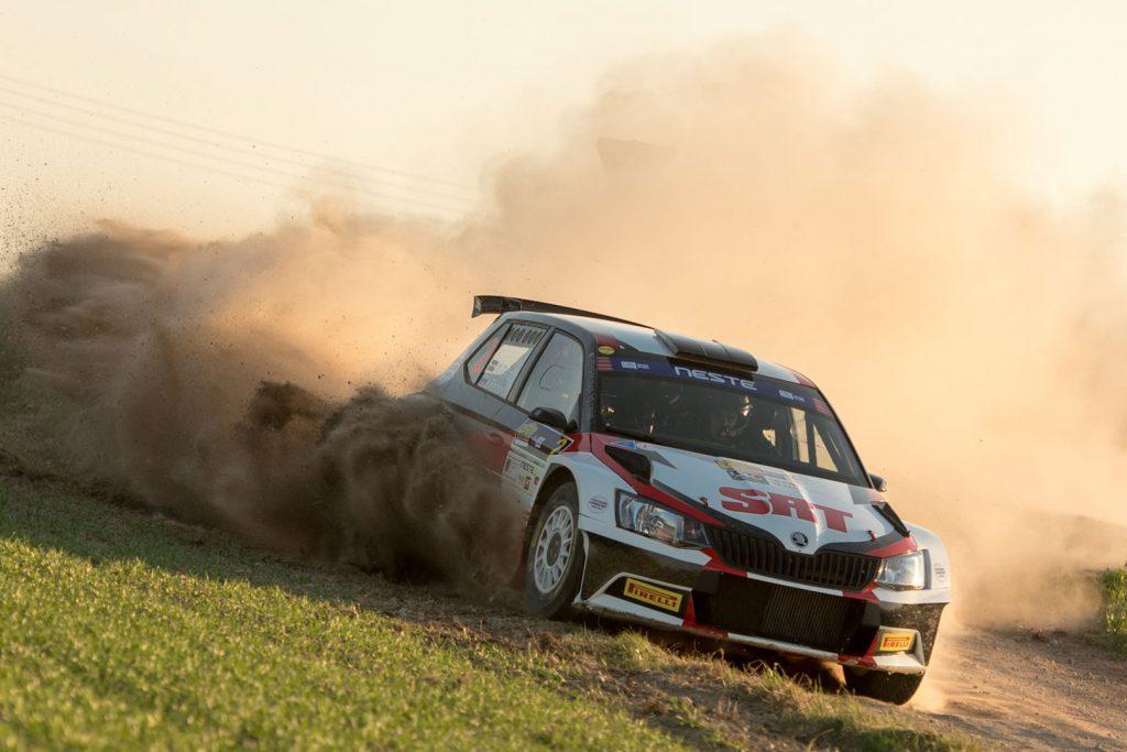 Nikolay Gryazin / Yaroslav Fedorov, ŠKODA FABIA R5, Sports Racing Technologies. Rally Talsi – Rally of Champions 2017