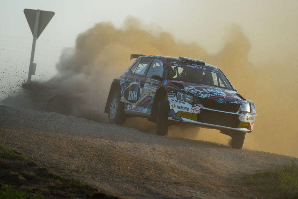 Kalle Rovanperä / Risto Pietiläinen, ŠKODA FABIA R5, TGS Worldwide OU. Rally Talsi – Rally of Champions 2017